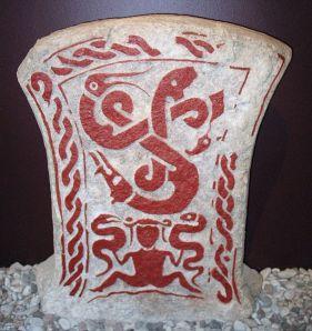 Snake Witchcraft Sweden goddess runestone