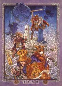 Tuatha de Danann Danu Irish Ireland Celtic mythology